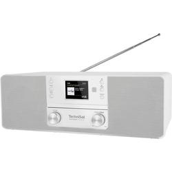 TechniSat DIGITRADIO 370 CD BT CD-Radio DAB+, UKW CD Weiß