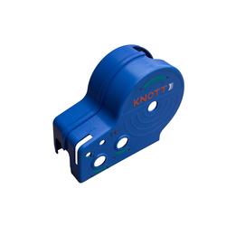 Blaues Gehäuse für KNOTT-Gurtwinde 450 kg