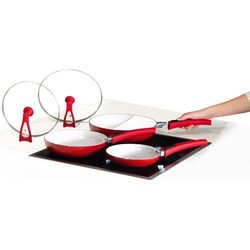 MediaShop Pfannen-Set Duo 2 Magic Premium, Keramik (Set, 3-tlg), Induktion