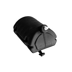 Schwarzer 30 Liter Wassertank mit Seifenspender LOKHEN