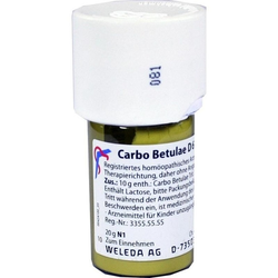 CARBO BETULAE D 6