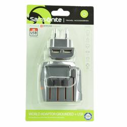 Samsonite Travel Accessories World Adapter III graphite