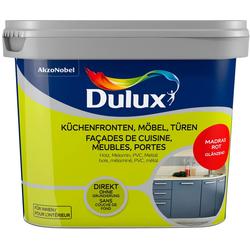 Dulux Holzlack Fresh Up, für Küchen, Möbel und Türen, madras rot, 0,75 l