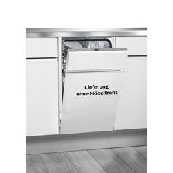 Hanseatic vollintegrierbarer Geschirrspüler HGVI4582E107714IS, 9 l, 10 Maßgedecke EEK A+ silberfarben Einbaugeschirrspüler Haushaltsgeräte