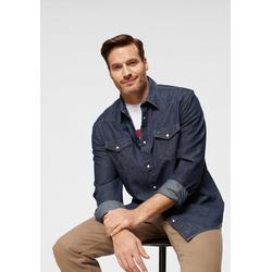 Wrangler Jeanshemd Western Shirt blau L (41/42)