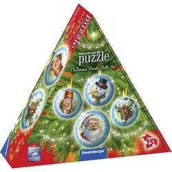 Ravensburger Christmas Puzzle-Ball Set 3D Puzzle 11678