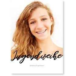 Einladungskarten Jugendweihe (10 Karten) selbst gestalten, Jugendweihe Stylish - Weiß