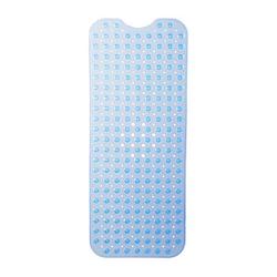 relaxdays Badewannenmatte   blau 39,0 x 97,0 cm