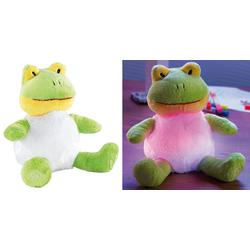 """Kuschel-Nachtlicht """"Frosch"""" mit Farbwechsel-LED"""