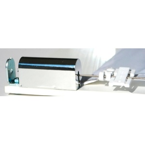 FLORACORD Montageset , zur Befestigung der Seilspanntechnik für Sonnensegel silberfarben