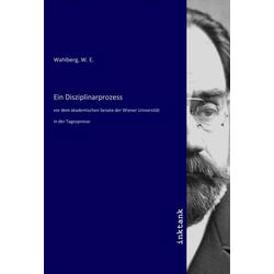 Ein Disziplinarprozess als Buch von