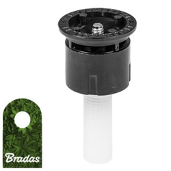 Sprühdüse für Pop-Up Sprinkler Versenkregner statisch Düse 30° Bewässerungsflache 4m Bradas 6266