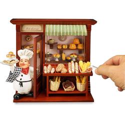 Reutter Porzellan Puppenhaus Reutter Miniaturen - Wandbild Bäckerei 21x23cm (1.794/5) Bäckerladen Puppenstube