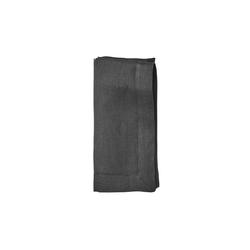 BUTLERS Stoffserviette PLAIN & NOBLE Serviette L 45 x B 45cm anthrazit grau