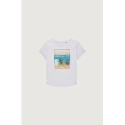 O'Neill Tees S/SLV Palm photo print t-shirt Palm photo weiß 176 (16)
