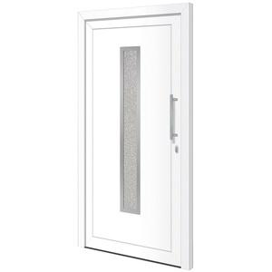 RORO Türen & Fenster Haustür Otto 16, BxH: 110x210 cm, weiß, ohne Griff