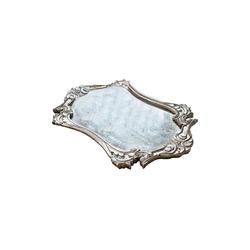 Mirabeau Tablett Mison, Gestell: MDF, Boden: Spiegelglas