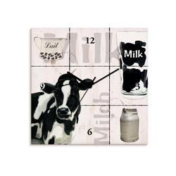 Artland Wanduhr Milch