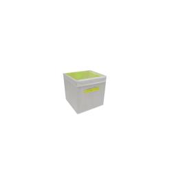 HTI-Line Aufbewahrungsbox Aufbewahrungsbox mit Deckel Paloma (1 Stück), Stoffbox gelb