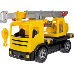 Lena® Spielzeug-Krankenwagen Giga Trucks, gelb-schwarz