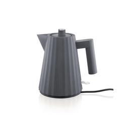 Alessi Wasserkocher Wasserkocher Plissé 1l, grau, 1 l