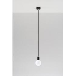 SOLLUX lighting Pendelleuchte Edison, Hängeleuchte, Hängelampe