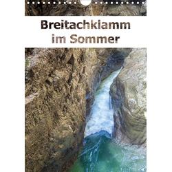 Breitachklamm im Sommer (Wandkalender 2021 DIN A4 hoch)