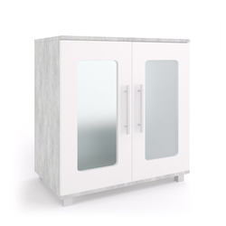 Vicco Waschbeckenunterschrank Waschtischunterschrank Rayk Unterschrank Waschbecken Waschtisch Bad Beton