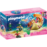 Playmobil Magic Meerjungfrau mit Schneckengondel 70098