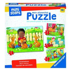 Ravensburger Puzzle ministeps Streichelzoo, Puzzleteile