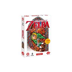 Winning Moves Steckpuzzle Puzzle Zelda Link-Adventurer 360 Teile, 360 Puzzleteile