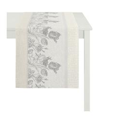 APELT Tischläufer TULIP (1-tlg) grau