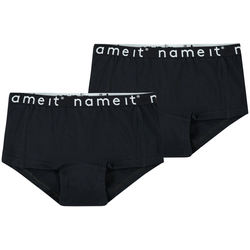 Name It Slip Hipster Panty 2er Pack Unterhose kurz NKFHIPSTER schwarz 134/140