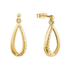 amor amor Ohrhänger für Damen, Gold 585