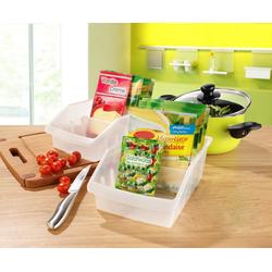 Ruco Organizer (Set, 5 Stück), Kunststoff, für den Küchenschrank