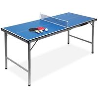 Relaxdays Tischtennisplatte blau