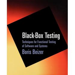 Black-Box Testing als Taschenbuch von Boris Beizer/ Beizer