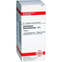 Ephedrinum Hydrochlo D6 Tabletten