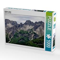 Allgäuer Alpen Lege-Größe 64 x 48 cm Foto-Puzzle Bild von Ulrike Steinbrenner Puzzle