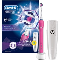 Oral B Pro 750 CrossAction Pink Limited Edition