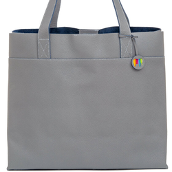 Mywalit Vancouver Torba shopper skórzana 39 cm grey