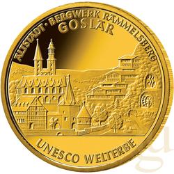 1/2 Unze Goldmünze - 100 Euro Goslar 2008 (F)