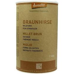 BRAUNHIRSE Bio Pulver 500 g
