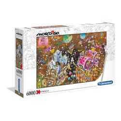 Clementoni® Puzzle Der Kuss - Mordillo Collection, 6000 Puzzleteile