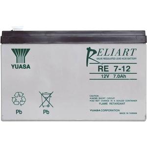 Yuasa RE7-12 RE7-12 Bleiakku 12V 7Ah Blei-Vlies (AGM) (B x H x T) 151 x 98 x 65mm Flachstecker 6.35m