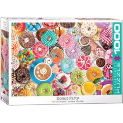 empireposter Puzzle Leckere Donuts in bunten Farben - 1000 Teile Puzzle im Format 68x48 cm, 1000 Puzzleteile
