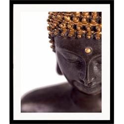 Home affaire Kunstdruck Buddha, front, 43/53 cm, gerahmt