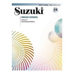 Suzuki Organ School  m. Audio-CD. Shinichi Suzuki  - Buch