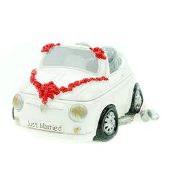Udo Schmidt Bremen...das Original Spardose Spardose Mini Cabrio Hochzeit mit Dosen Sparschwein