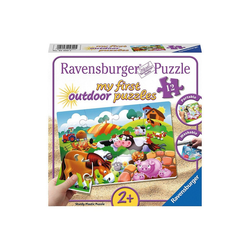 Ravensburger Puzzle my first Outdoor-Puzzle, 12 Teile, 26x18 cm, Liebe, Puzzleteile